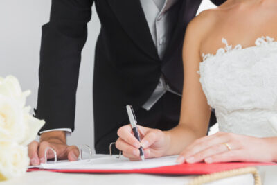 Порядок заключения брачного договора
