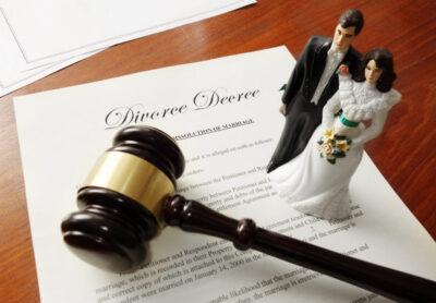 соглашение о расторжении брака и судебный молоток