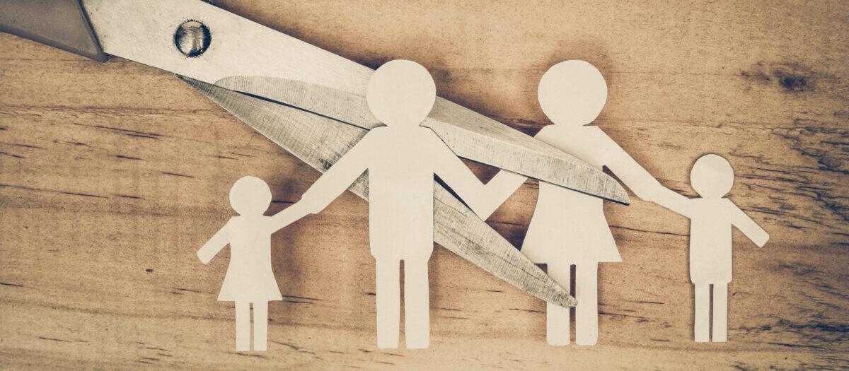 Развод семьи