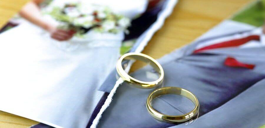 свидетельства о разводе.